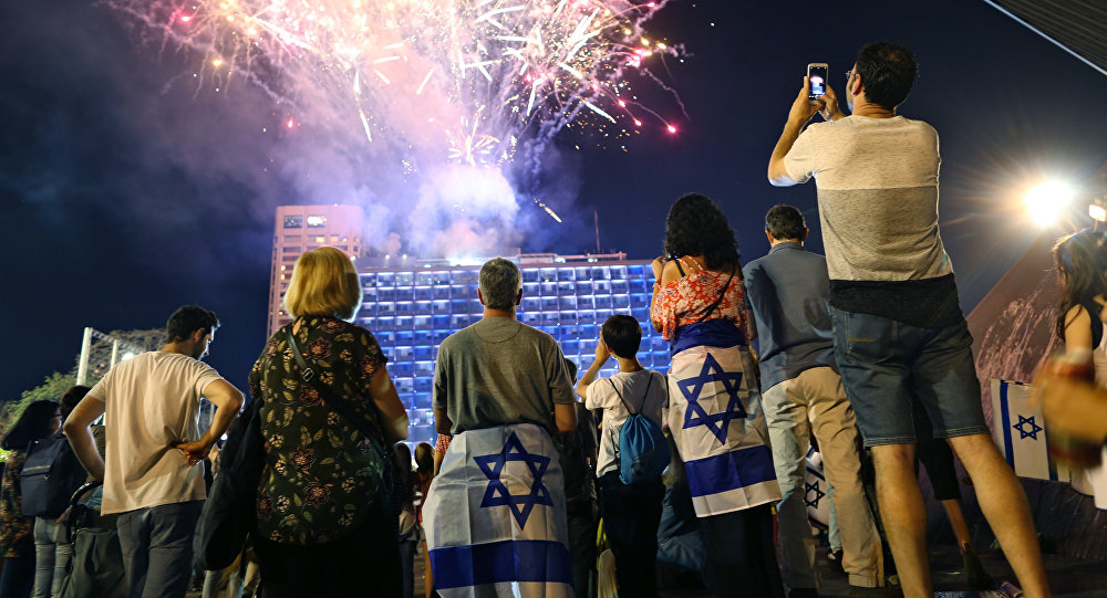 fireworks israel indepandance day